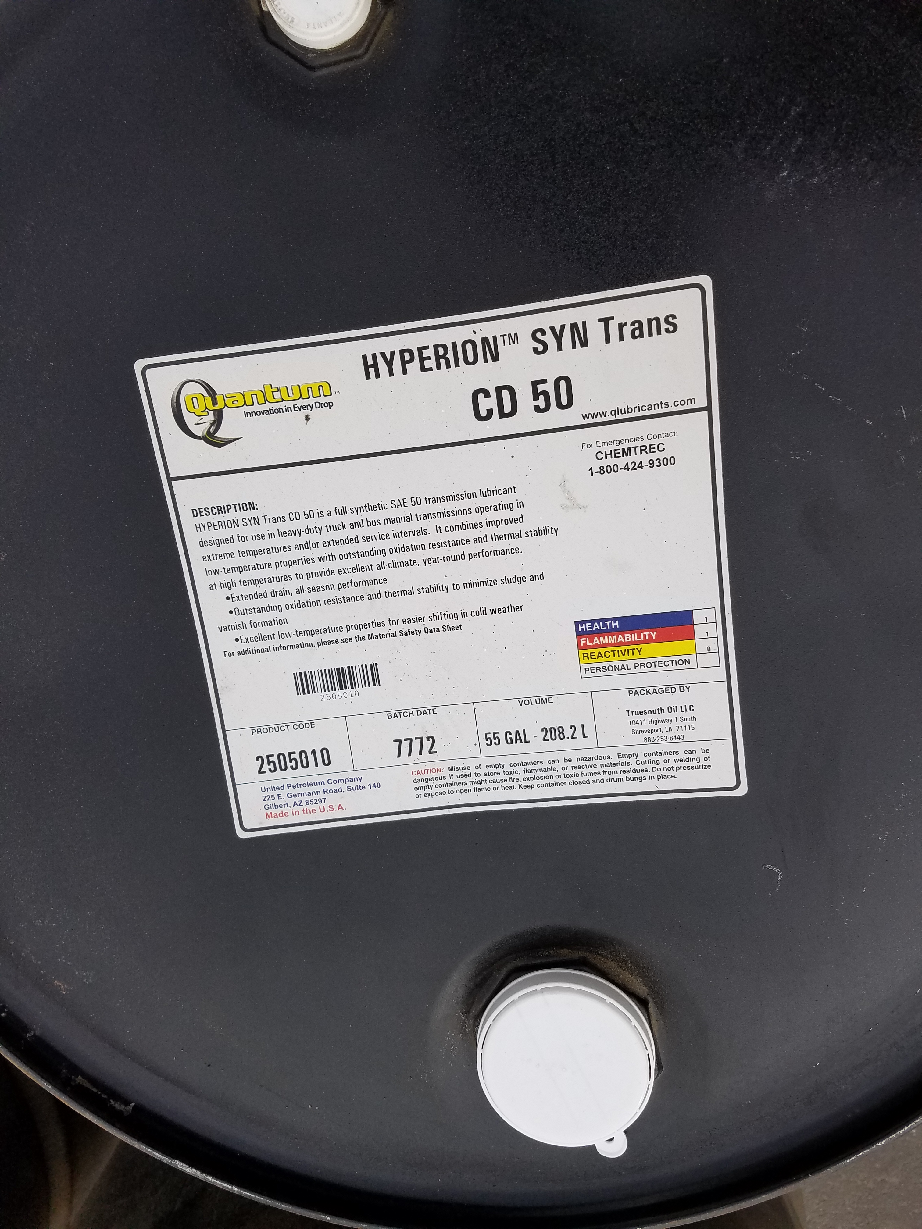 Auction !!! Synthetic Transmission Oil Open for Bid - E R  Vine & Sons
